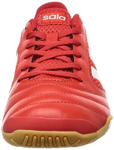 adidas Herren Ace 17.4 Sala Fußballschuhe, Rot Rot (Red / Ftwr White / Scarlet)