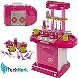 Techhark Toyz Kitchen Set Kids Luxury Battery Operated Super Toy