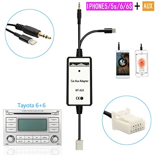 kmfeel-mp3-player-adapter-car-digital-music-cd-changer-35mm-for-toyota-6-6-pin-corolla-rav4-highland