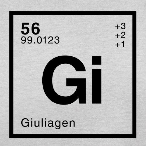 Giulia Periodensystem - Herren T-Shirt - 13 Farben Hellgrau