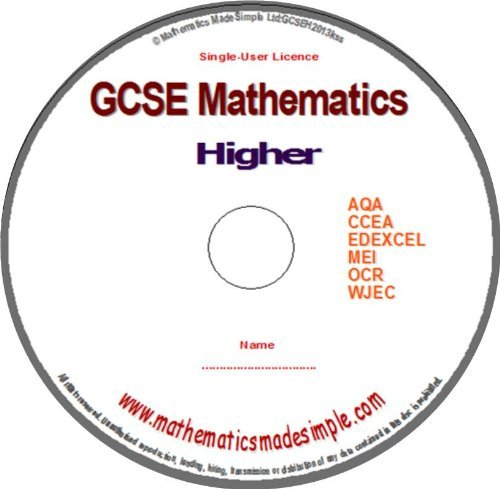 gcse-mathematics-higher-revision-dvdrom-for-grade-a-and-a-ms-windows-android-tablets-ipad-and-kindle