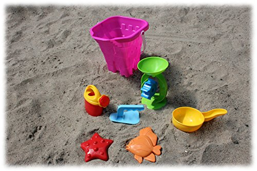 """Preisvergleich Produktbild Eimergarnitur """"Burg"""" 7-tlg., Sandspielzeug, Kinderspielzeug für draußen"""