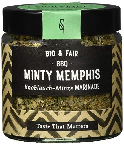 SoulSpice Minty Memphis Knoblauch-Minze Marinade, 2er Pack (2 x 70 g)