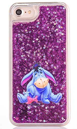 Phone Kandy® Hart Transparent Shell Glitter Stars Sparkle iPod Touch 5 / 6 Kasten mit Karikatur Hülle Abdeckung Haut tascen (iPod Touch 5 / 6, Eeyore) (Minnie Mouse Mp3-player)