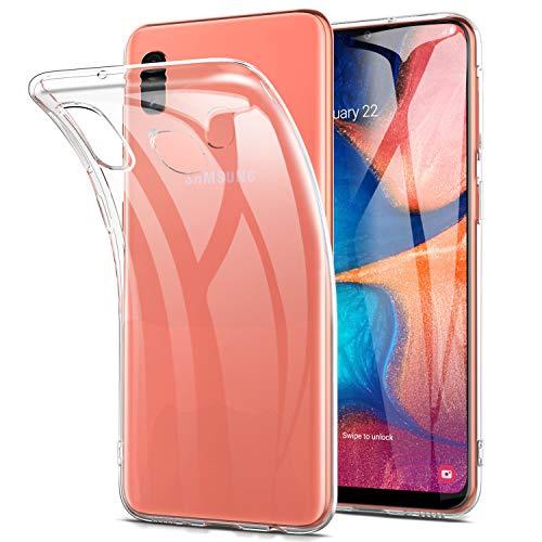 Yocktec Hülle für Samsung Galaxy A20e, Ultra-dünne weiche TPU Gel-Abdeckung Transparent Hülle Case [Kratzfest] [Stoßdämpfung] für Samsung Galaxy A20e 2019 Smartphone[Transparent]
