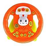 Planet of Toys High Chair Educational Steering Wheel (Lights & Music) For Kids, Children