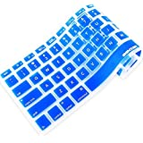 iBenzer - Macaron Serie Royal Blue Keyboard Cover Silicone Rubber Skin for Macbook Pro 13'' 15'' 17'' (with or without Retina Display) Macbook Air 13'' and iMac - Royal Blue MKC01RBL