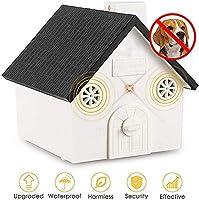 INSGOS Anti Ultrasons Dog Barking Appareil, Sonic Bark Répulsifs, Dispositif de Contrôle D'Écorce, Extérieur Système Étanche Anti Bark Contrôle Facile à utiliser