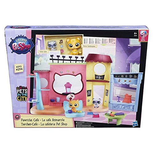Hasbro Littlest Pet Shop B5479EU4 - Tierchen Café, - Shop-pet-sets Pet Littlest