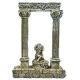 All Pond Solutions Roman Column Säulen Statue Aquarium Fisch Tank Ornament
