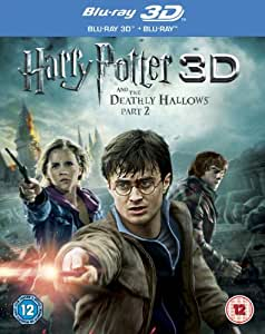 Harry Potter And The Deathly Hallows Part 2 (Blu-ray 3D + Blu-ray) [2011] [Region Free]