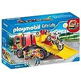 Playmobil City Life 70199 - Carro attrezzi con Moto, dai 4 anni