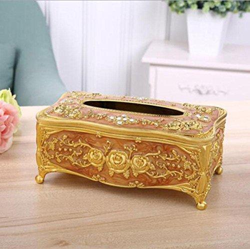 CanKun Upscale Acryl Tissue Box Cover Papier Serviette Box Spender für Home Office Auto Dekor , 004