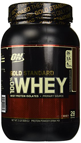 Optimum Nutrition 100% Whey Gold Standard Extreme Milk Chocolate 2Lb Protein by...