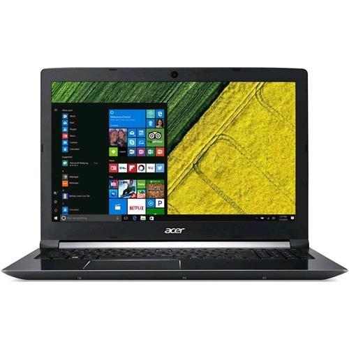 Acer Aspire 7 A715-71G-743K Portatile da 15.6' Full HD, Intel i7 7700HQ 2.80 GHz, 16 GB RAM DDR4, HDD 1TB 5400 RPM, SSD 256 GB, GeForce GTX 1050 Ti, Windows 10 Home