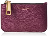 Marc Jacobs Damen Gotham Slgs Key Pouch Geldbörse, Violett (Iris), 1x8.5x13.5 cm
