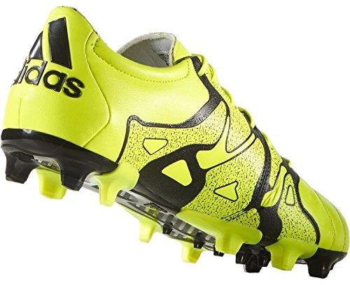 adidas X 15.2 Fg/ag Leather Herren Fußballschuhe solar yellow-solar yellow-core black (B26960)
