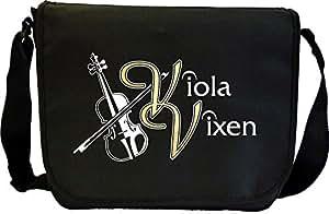 Viola Vixen - Sheet Music Document Bag Musik Notentasche MusicaliTee
