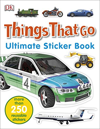 Things That Go. Ultimate Sticker Book por Vv.Aa