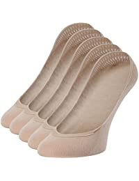 Merry Style Damen 5er Pack Füßlinge Ballerina Socken BS17