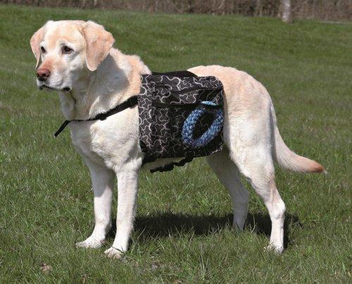 Artikelbild: Trixie 30102 Rucksack für Hunde, M: 23 × 15 cm, schwarz