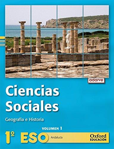 Ciencias sociales 1º eso adarve trimestral (andalucía): libro del alumno