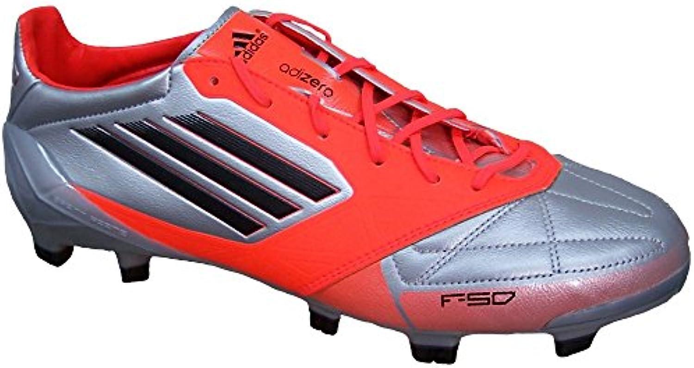 adidas F50 adizero TRX FG Leather SILBER V21435 Grösse: 40 2/3