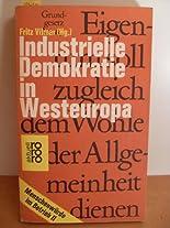 Industrielle Demokratie in Westeuropa hier kaufen