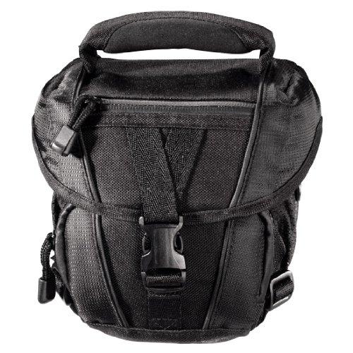 Hama Kameratasche für eine Spiegelreflexkamera mit Objektiv, Rexton 100 Colt, Schwarz