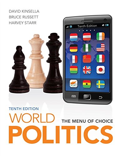 World Politics The Menu For Choice Pdf
