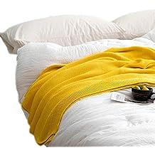 4ecd0fcae3814 Tz 100% Manta de algodón Manta de Ocio Manta de Ocio Oficina Adulta Siesta  Alfombra
