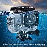 Action Kamera,LESHP 4K Wifi Aktion Cam Wasserdichte Kamera Helmkamera Full HD 1080P 170 Grad...