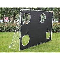 GMT Sport 7'x 5' en acier 3en 1de Soccer/football goal cibles avec filets