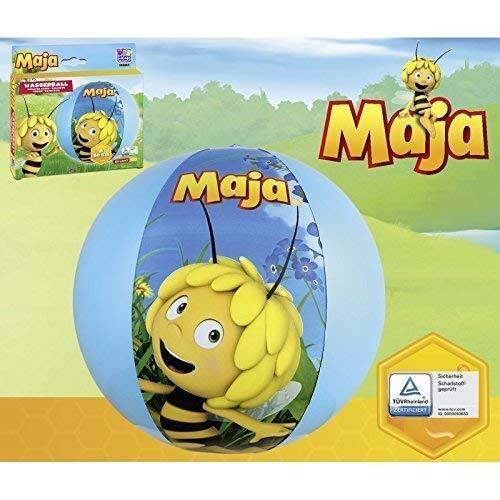 Lively Moments Aufblasbarer Wasserball / Beachball / Spielball mit Biene Maja