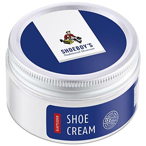 Shoeboy's Shoe Cream - pflegende Schuhcreme im Tiegel für hochwertige Glattleder, mahagoni, 1er Pack (1 x 50 ml) -
