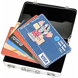 Storite® High Quality Widely Use Briefcase Style Credit/Debit/Visiting Business Card Holder