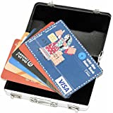 Storite High Quality Widely Use Briefcase Style Credit/Debit/Visiting Business Card Holder