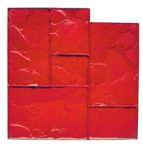 bonway-12-875-24-inch-by-24-inch-ashlar-cut-stone-urethane-floppy-mat-red-by-bon-tool