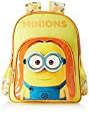 #8: Minion Polyester Yellow School Bag (MBE-MIN048)