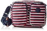 Kipling Womens Patti Cross-Body Bag Multicolour (Sugar Stripes)