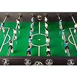 """Tischfussball """"Leeds"""", 4 Farbvarianten, inkl. 4 Bälle + Getränkehalter, nahtlos hochgezogene Spielfeldecken - 3"""