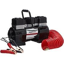 AmazonBasics - Luftkompressor mit Tragetasche und 2 Batterieklemmen