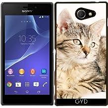 Funda para Sony Xperia M2 - Gato Amigo Animal Animales by WonderfulDreamPicture