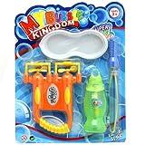 Oramics - Power-Bubble-Gun - Seifenblasenset: 2-fache Seifenblasen-Pistole & Seifenblasenschwert