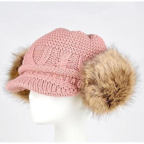 XZWZ cappello da baseball Baotou Hulan berretto di lana invernale