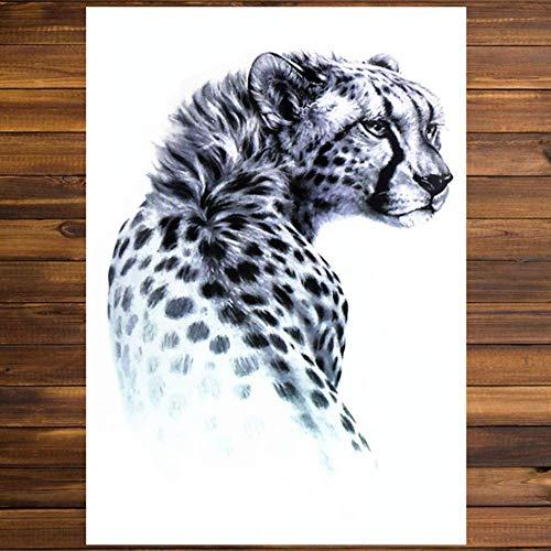 XXPF Cobra Horse Tiger Temporary, 1 Sticker, Henna Y Tattoo Stickers