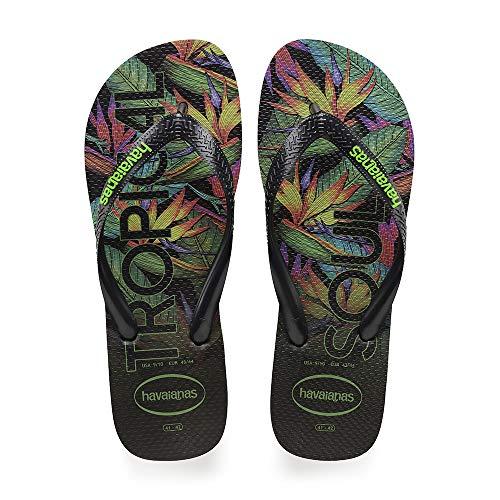 Havaianas Top Tropical, Infradito Uomo, Multicolore Black 1069, 47/48 EU