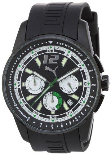 Puma PU102161006 - Reloj de cuarzo para hombres, color negro