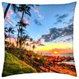 wanshangcheng Maui, Summer Home - Throw Pillow Cover Case (18 X 18 Inches / 45 By 45 Cm)