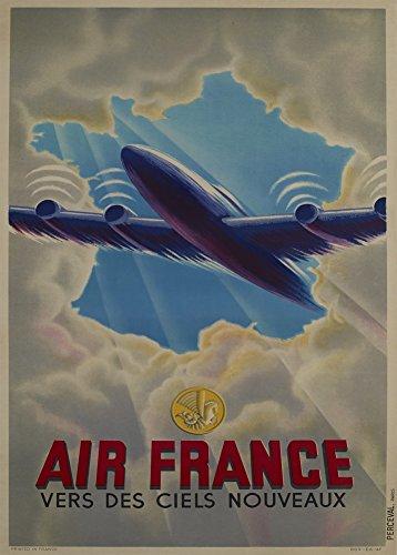vintage-de-viaje-francia-con-air-france-hacia-nuevos-cielos-c1930-250-gsm-brillante-art-tarjeta-a3-r